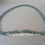 Chuỗi hạt đeo cổ ngọc Phỉ Thúy xanh Miến Điện S776