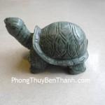 Tượng Rùa phong thủy đá Lam Ngọc trường thọ R078