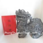 Tỳ hưu Bắc Kinh đen khủng hoạnh phát tài lộc BKD L