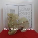 Tỳ hưu Bắc Kinh xanh trung công danh tấn tới BKX M