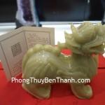 Tỳ hưu Bắc Kinh xanh khủng công danh thăng tiến BKX L