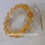 Vòng đá quý đeo tay thạch anh vàng Nam Mỹ chiêu tài S900 3198